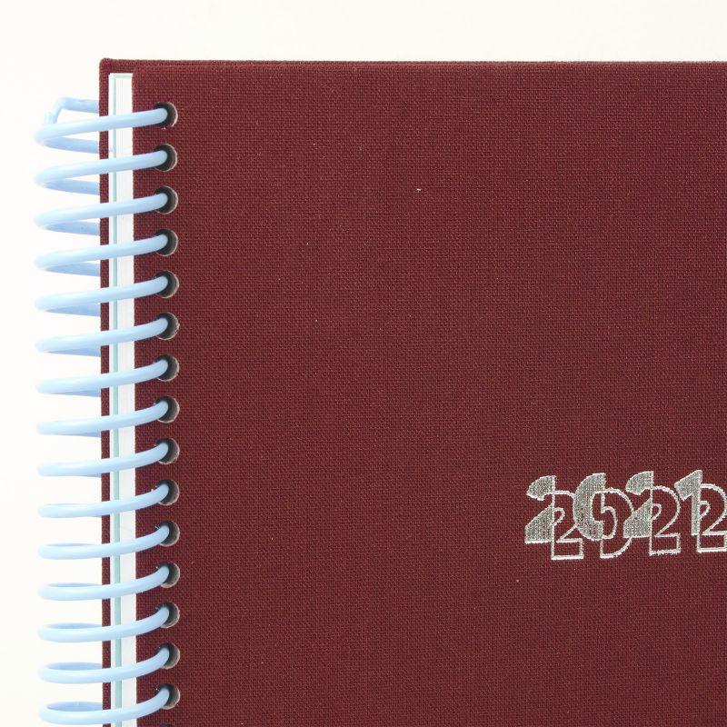 Agenda A5 21/22  Toilé Bordeaux