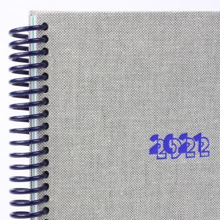 Diary A5 21/22  Toilé Chiné