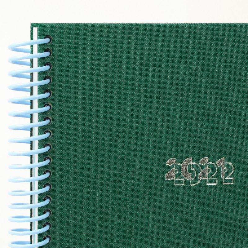 Diary A5 21/22  Toilé Sapin