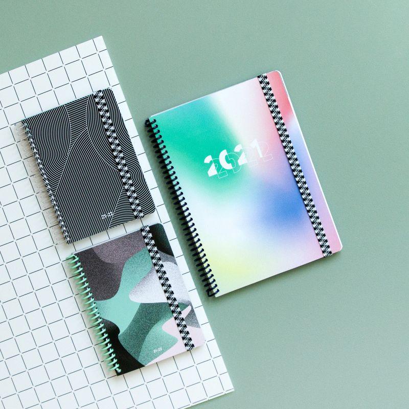 Diary A6 21/22 Circuits black