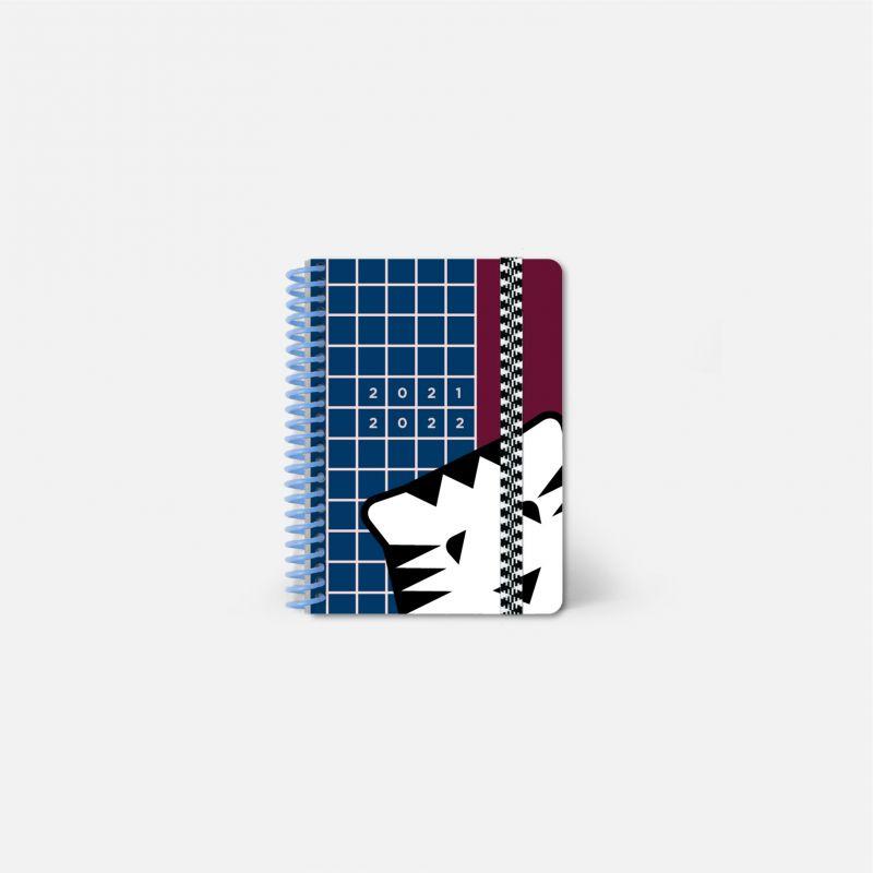 Diary A6 21/22 Scolar - Tigre