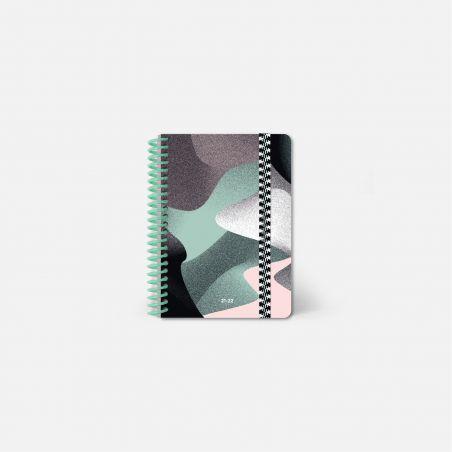 Diary A6 21/22 Scolar - Waves