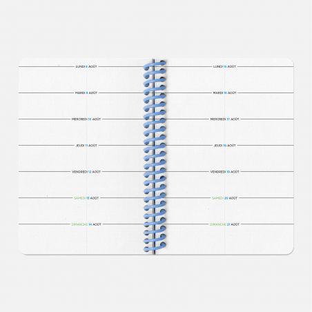 Diary A6 21/22 Scolar - Tracks