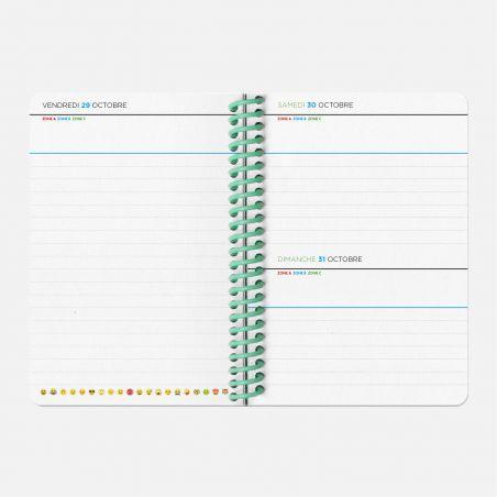Agenda A6 21/22 Scolaire -  Vinyle