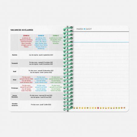 Agenda A6 21/22 Scolaire - Waves