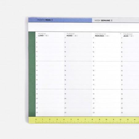 Weekly desk blotter - Module