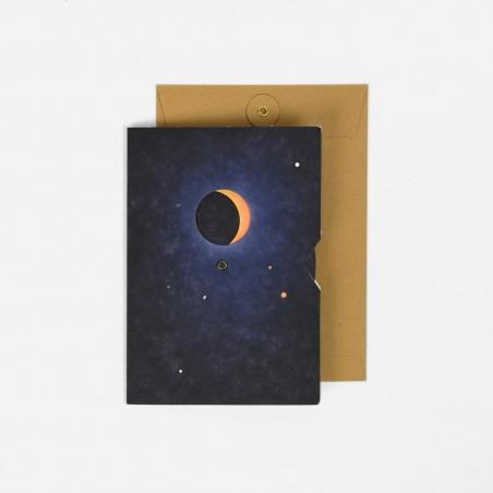 A5 Greeting Card - Moon