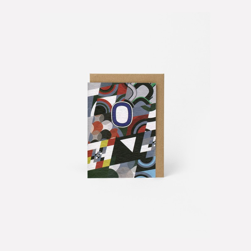 A6 Greeting Card -The Patchwork Diptyque