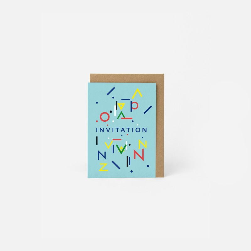Carte A6 - Invitation