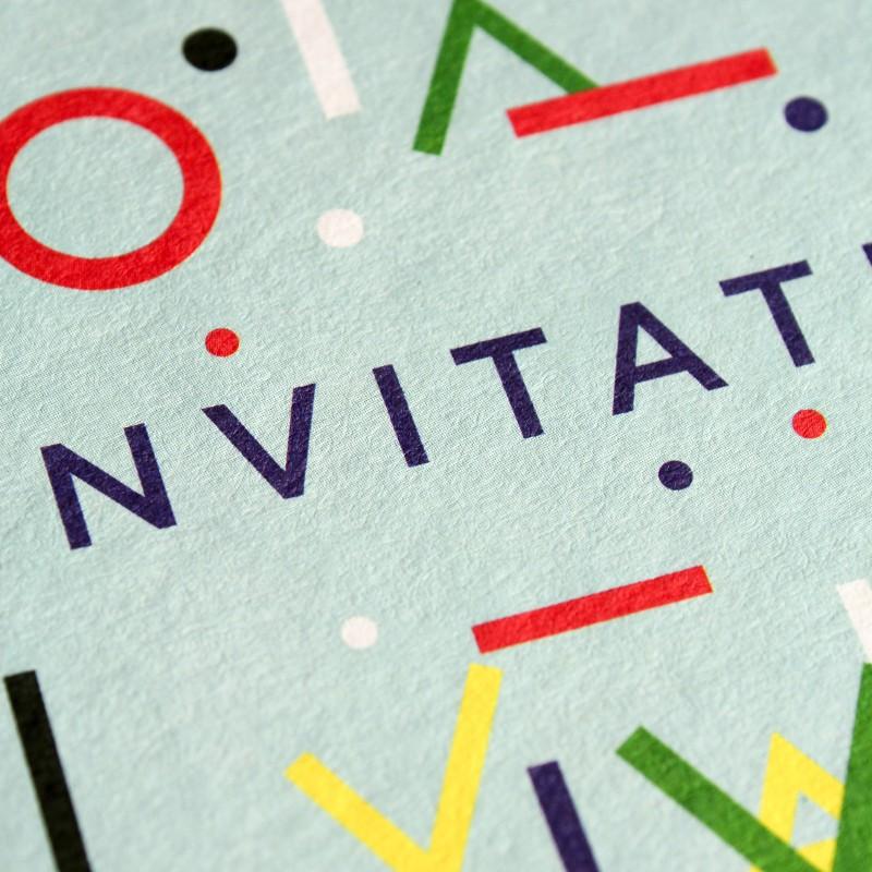 A6 Greeting Card - Invitation