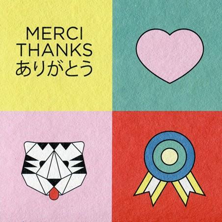 Carte A5 - Merci Thx