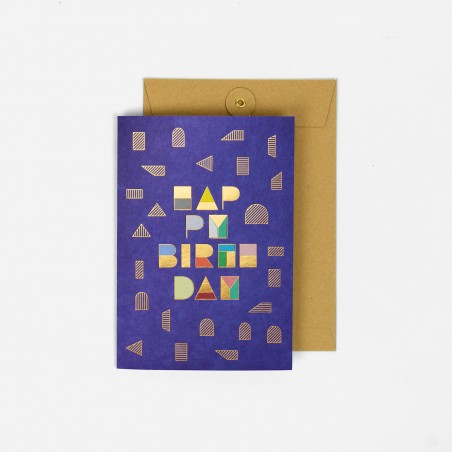 A5 Greeting Card - Happy Or