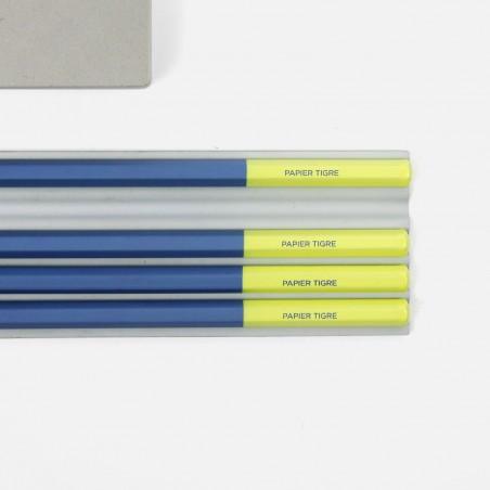 Crayon - Bleu Jaune