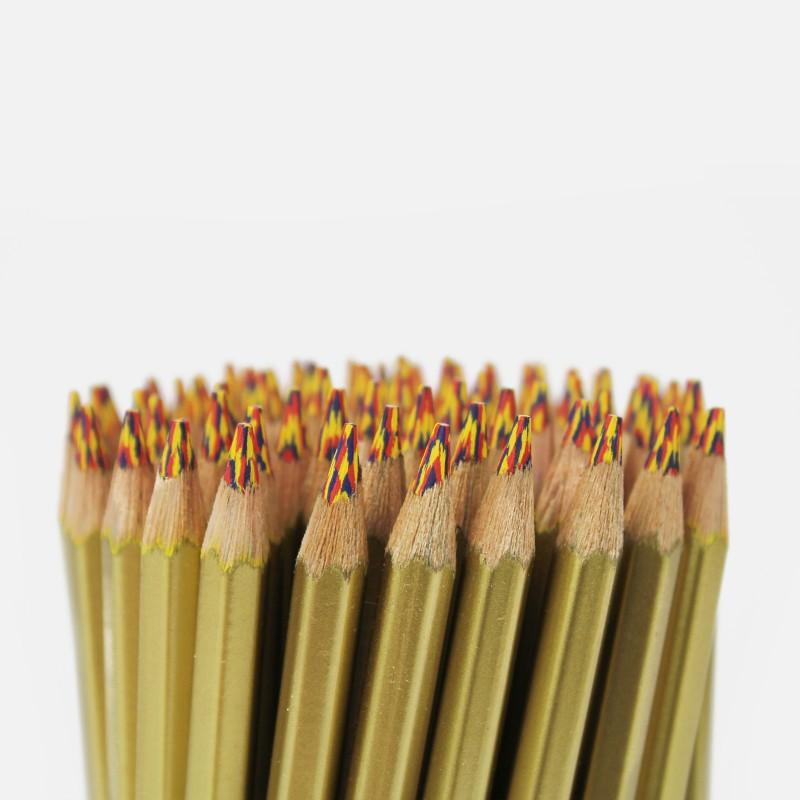 Crayon Multicolore - doré