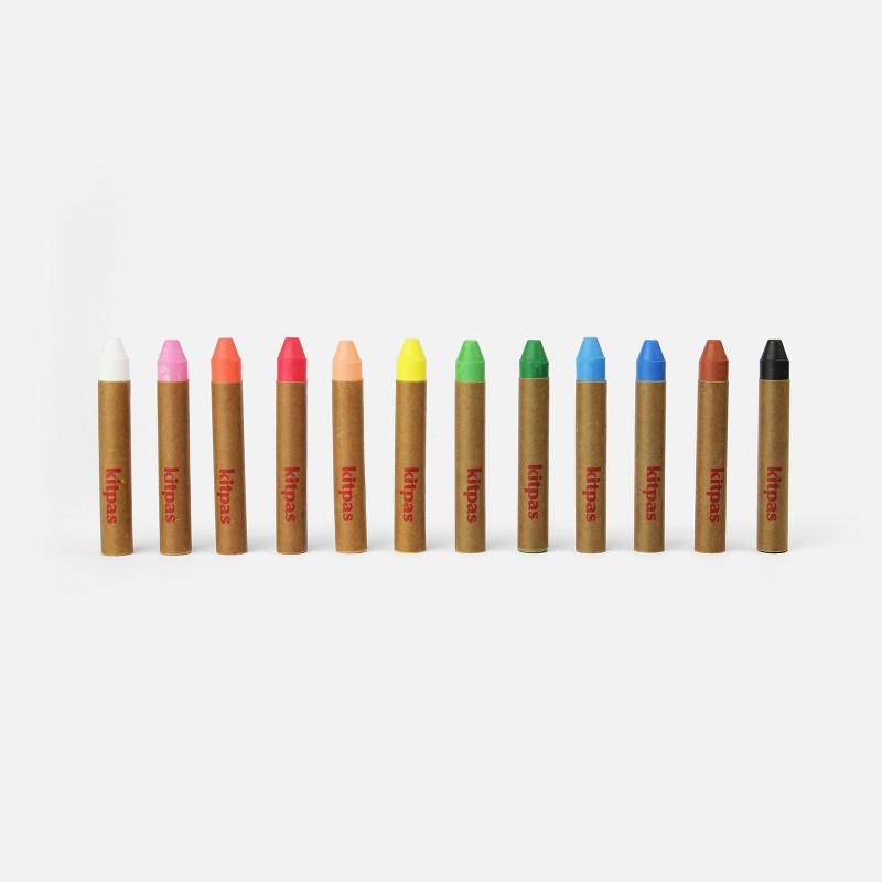 Crayons de cire Kitpas