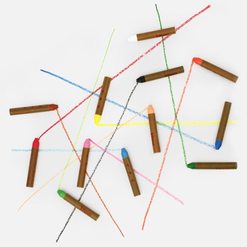 Kitpas Wax Crayons