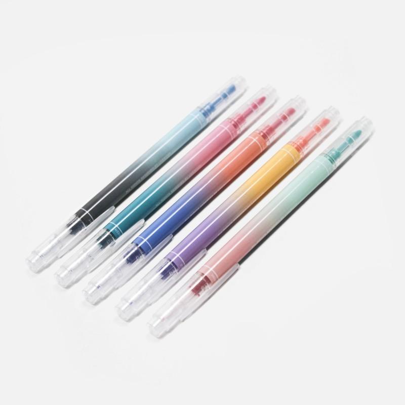 Boites de 5 feutres duo - 10 couleurs