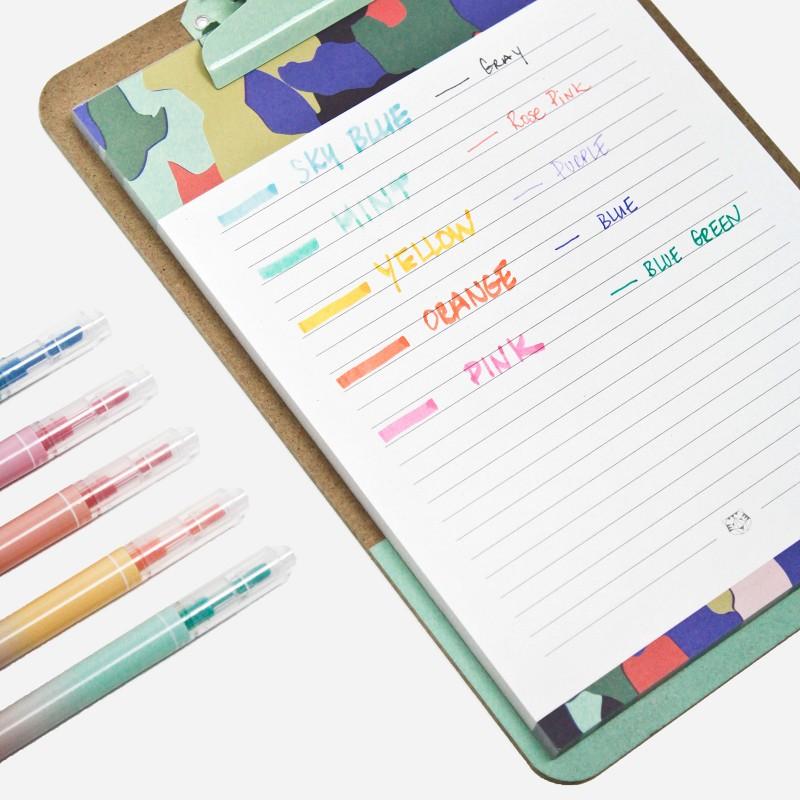 5 Duo Felt Pens Box - 10 colors