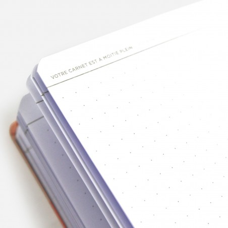 A6 Canvas Notebook - Traffic