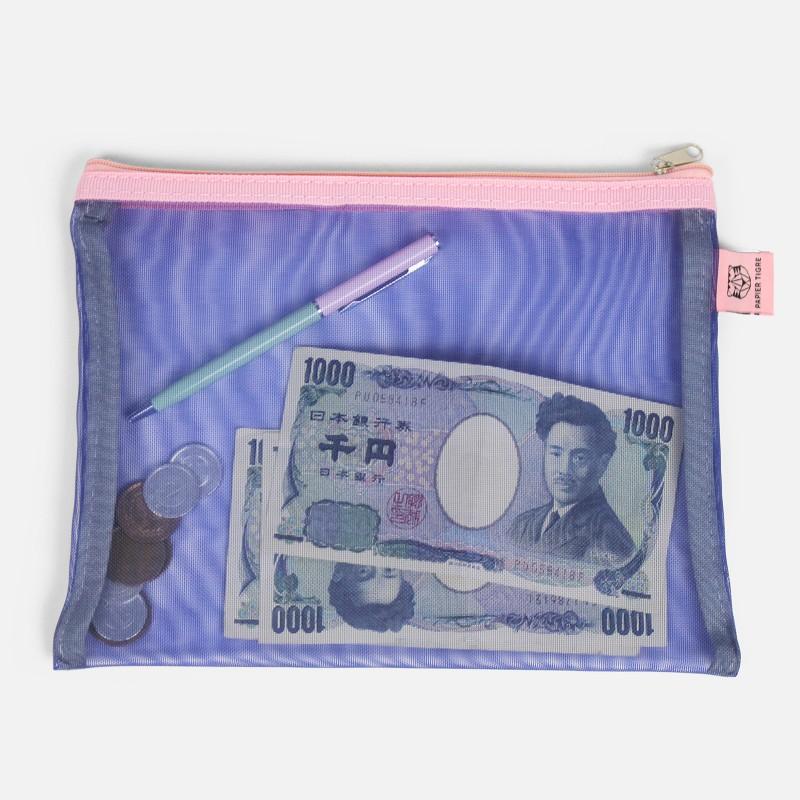 Mesh Pocket - Indigo
