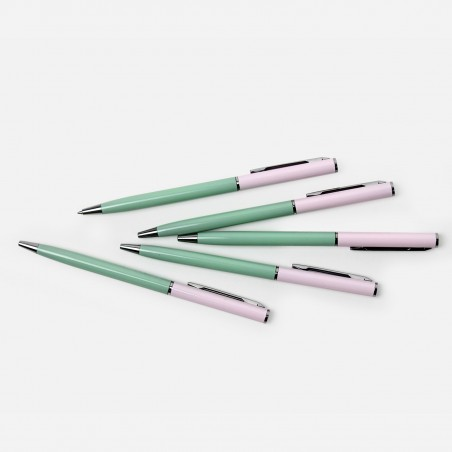 Ballpoint Pen - Pink Green