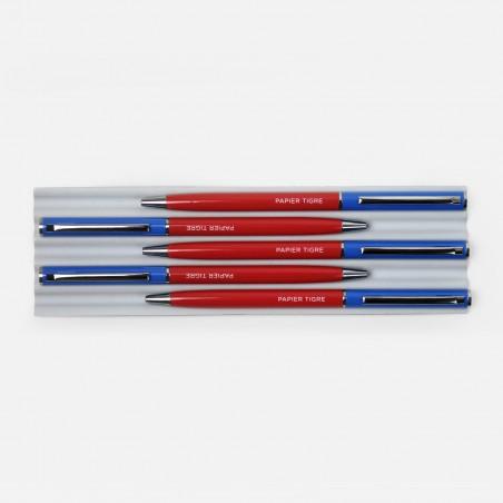Ballpoint Pen - Blue Red