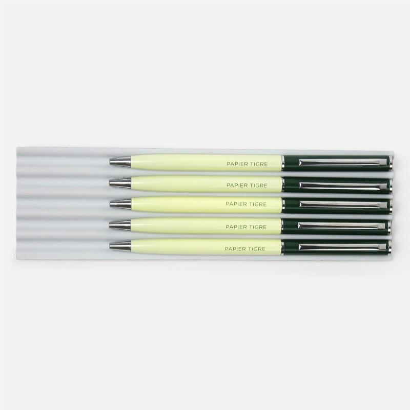 Ballpoint Pen - Green Yellow