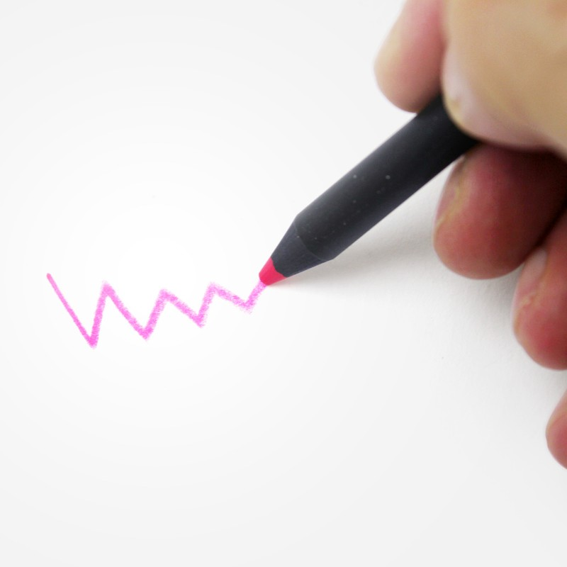 Crayon fluo noir