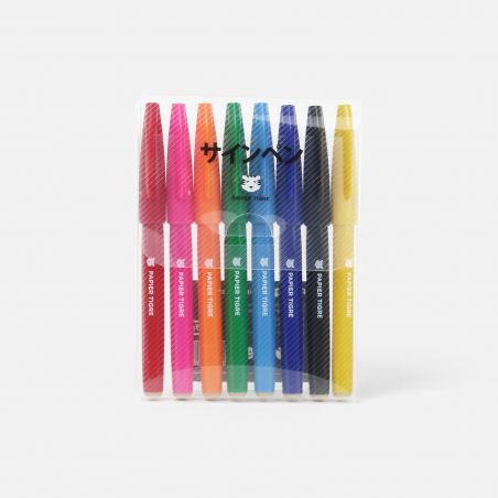 Set de 8 Sign Pen
