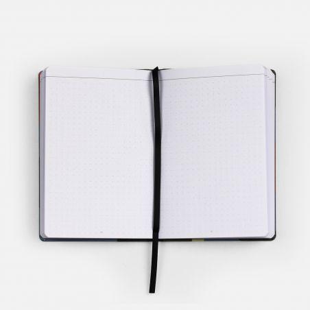 A6 Canvas Notebook - City