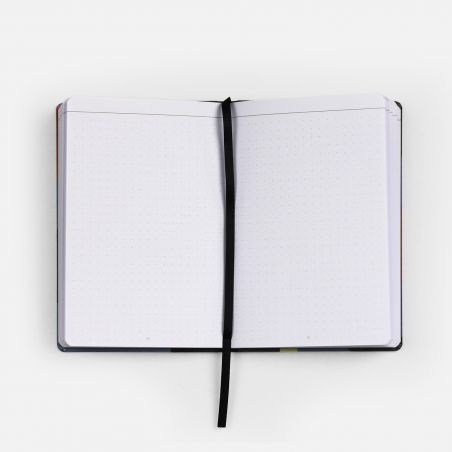 A6 Canvas Notebook - Canal