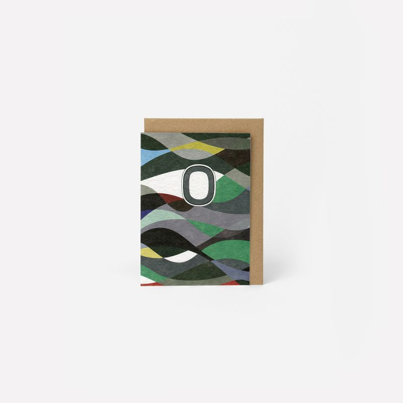 A6 Greeting Card - The Waves Diptyque