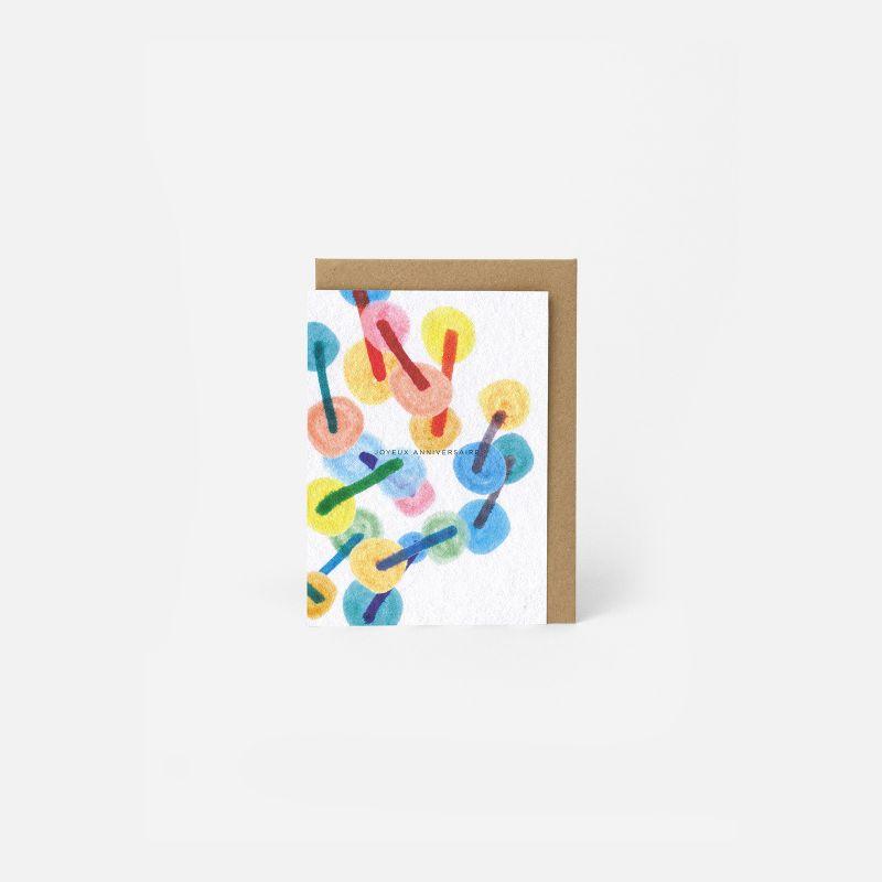 A6 Greeting Card - Confetti