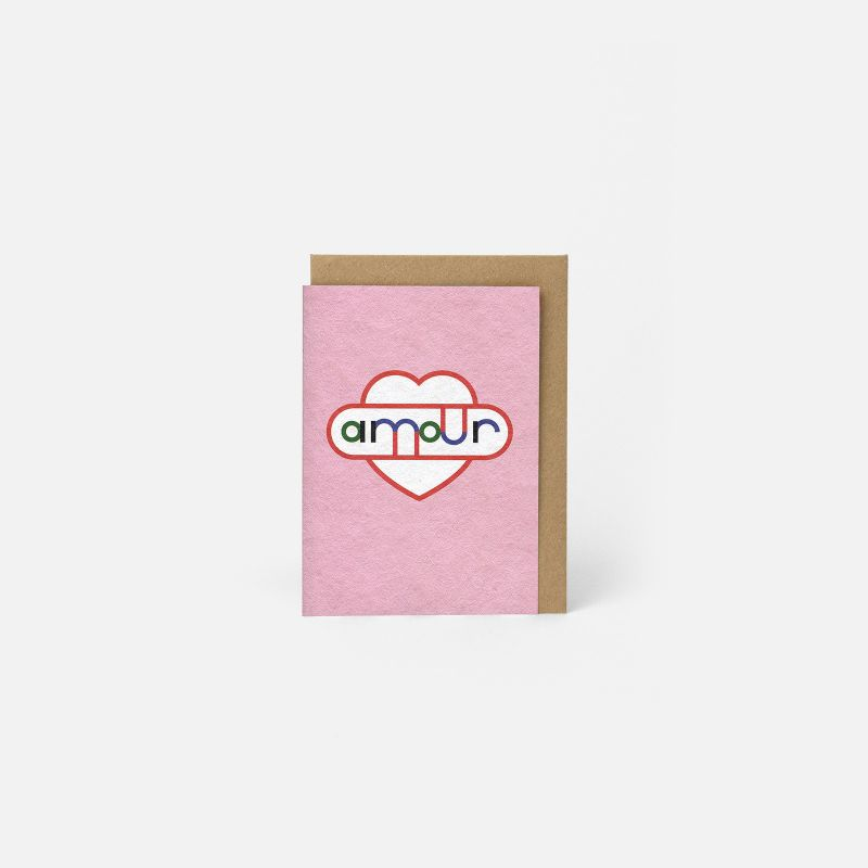 A6 Greeting Card - Amour