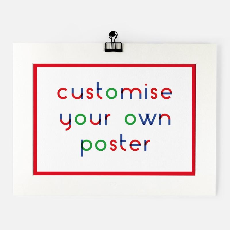 Personalised Print - RGB