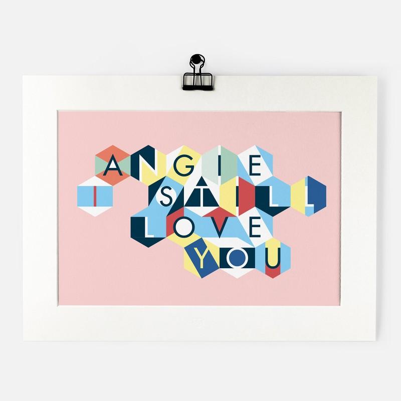 Personalised Print - ABC