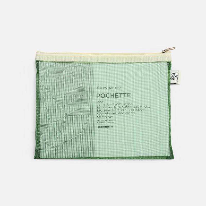 Pochette Mesh - Vert