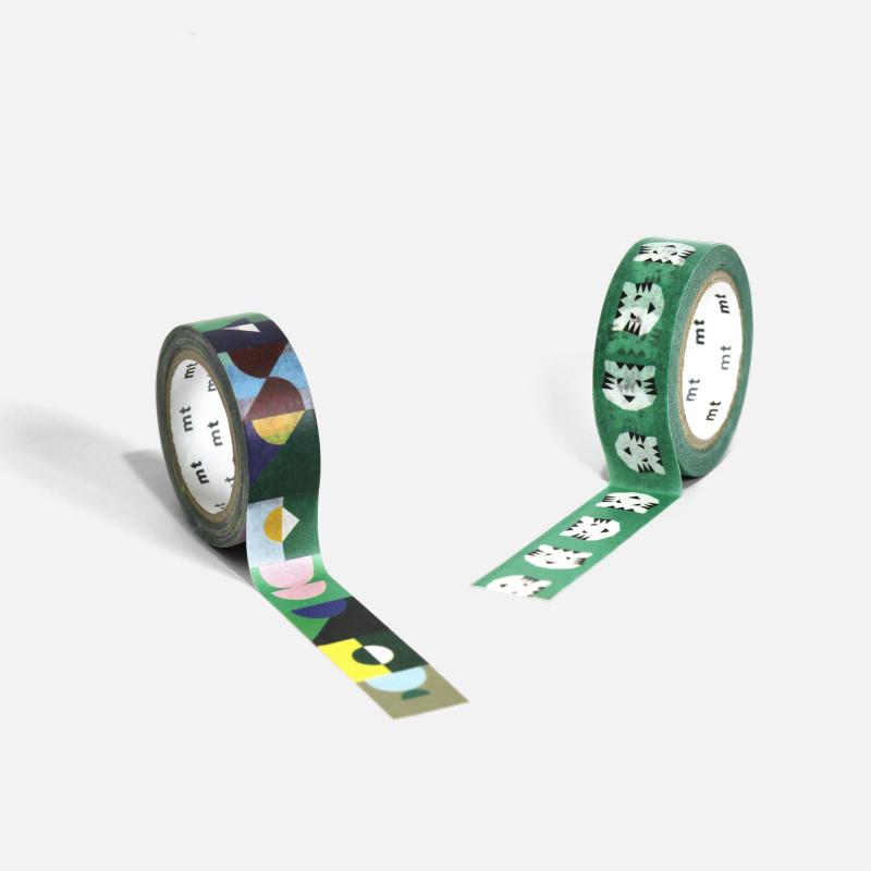 Masking Tape Papier Tigre Set