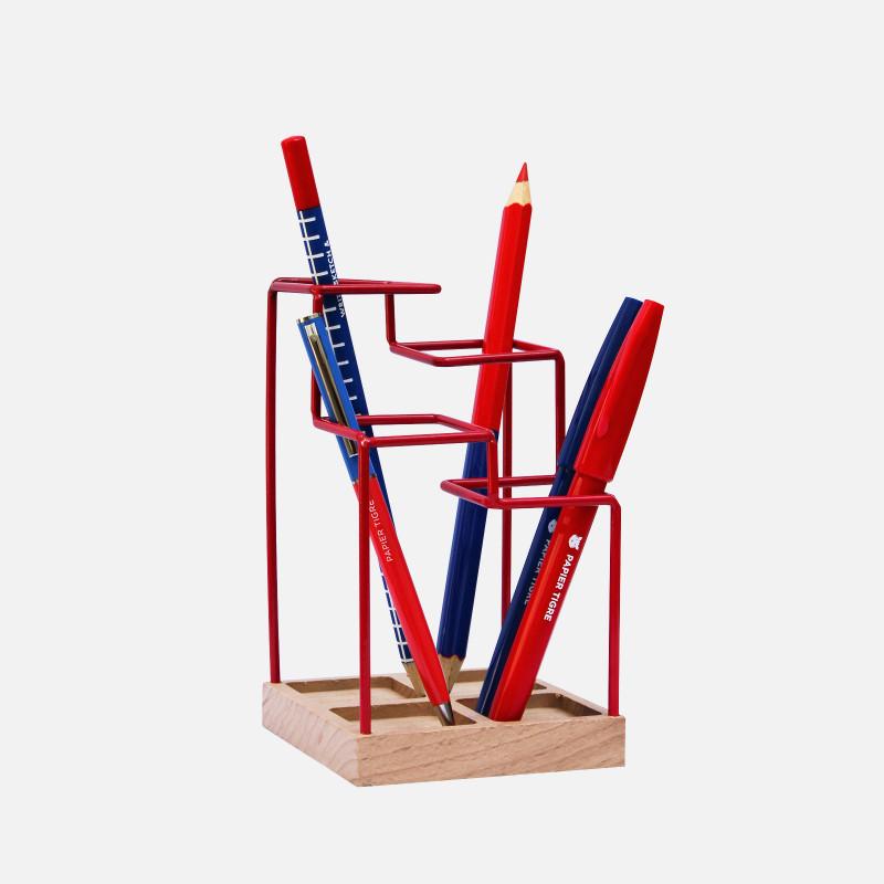 Pen Holder - Red