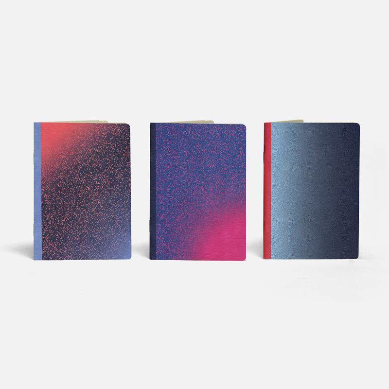 3 Pocket Notebooks - Galileo