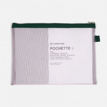 Set of Mesh Pockets - Green