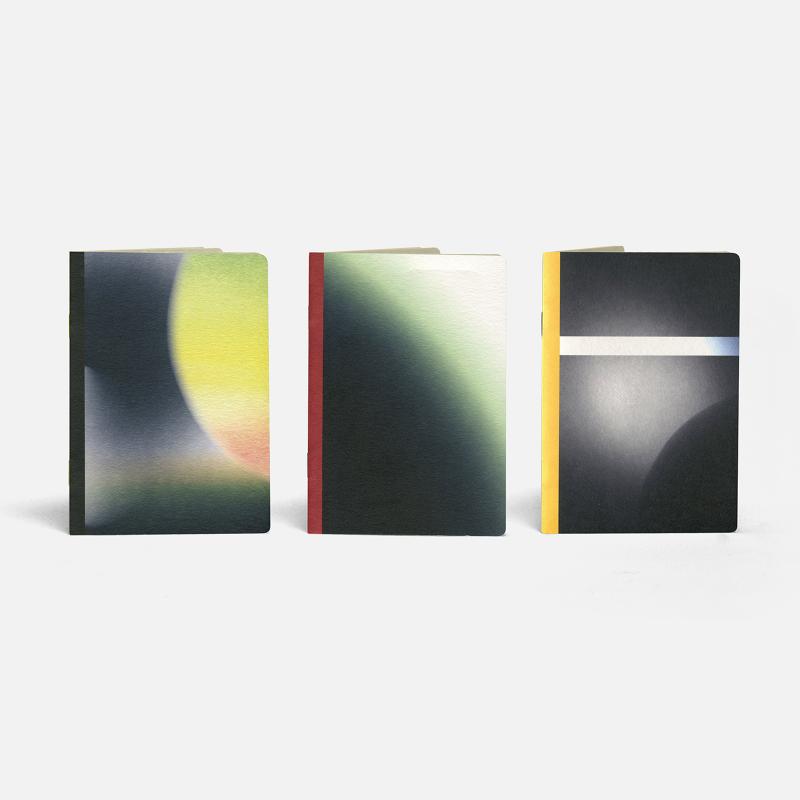 3 Pocket Notebooks - Mercury