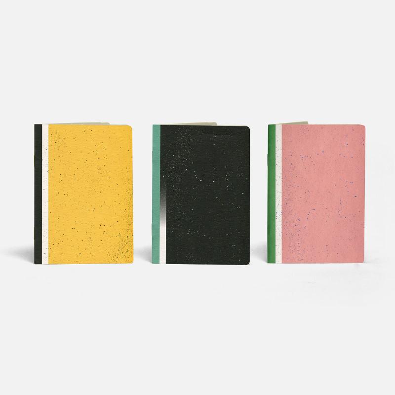 3 Pocket Notebooks - Hubble