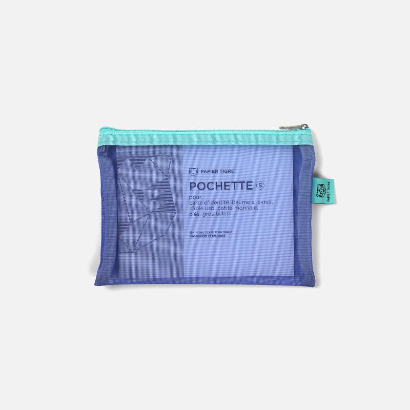 Pochette Mesh S - Aqua