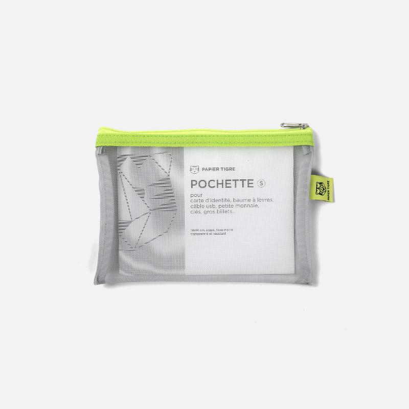 Pochette Mesh S - Lime