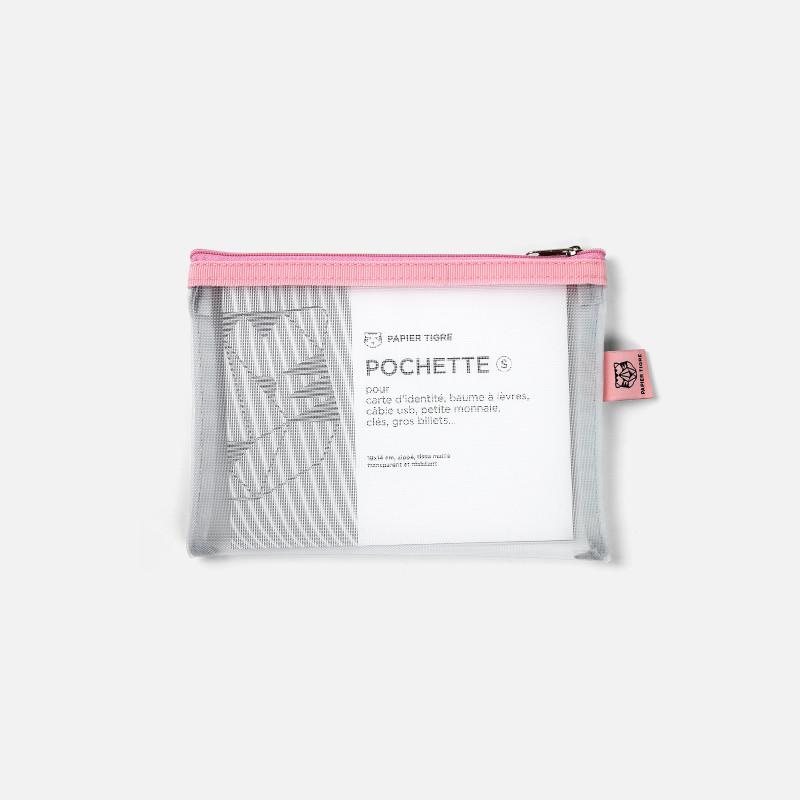 Pochette Mesh S - Bubblegum