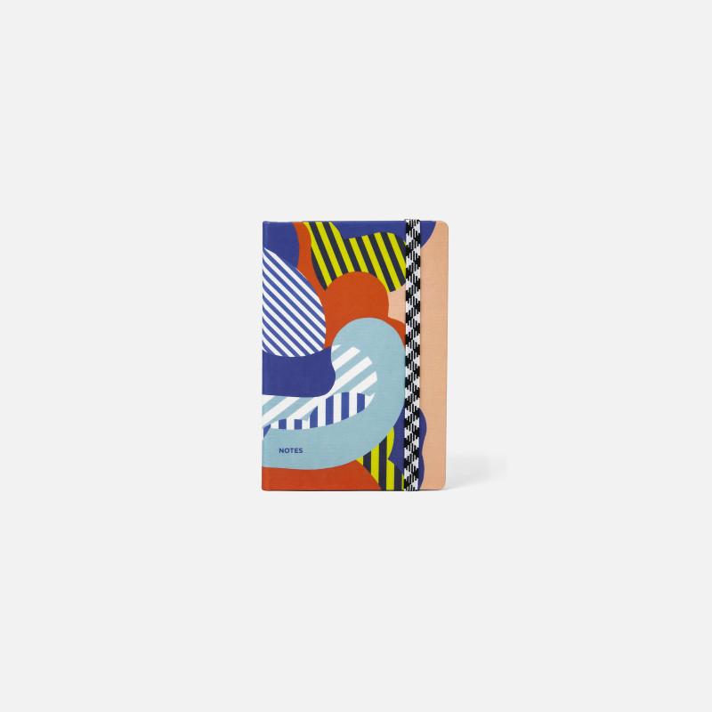 A6 Canvas Notebook - Clouds