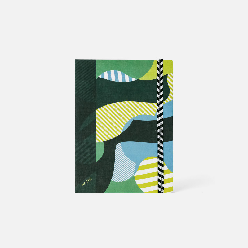 A5 Canvas Notebook - Clouds