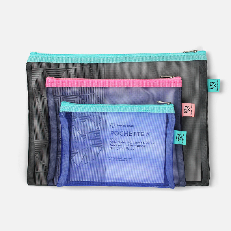 Mesh Pockets Set - Black