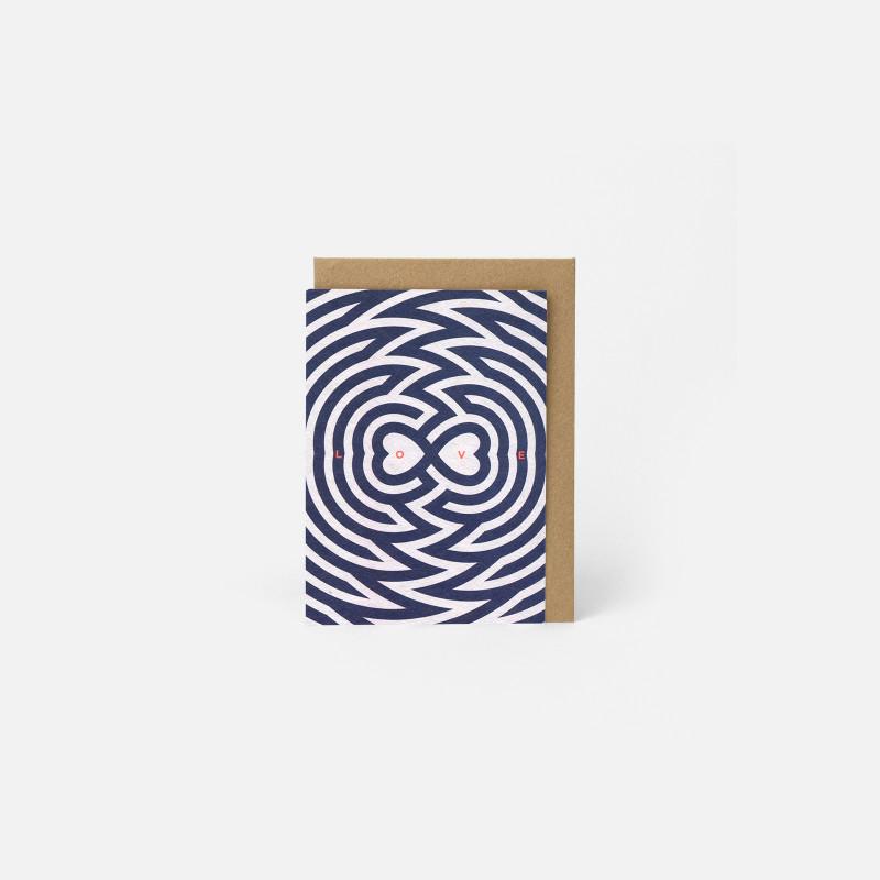 A6 Greeting Card - Love